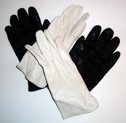 как почистить перчатки