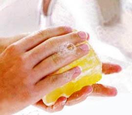 Профилактика гриппа чаще мыть руки