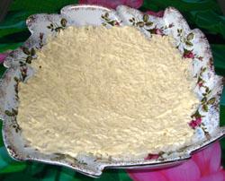 1 слой салата Дед Мороз