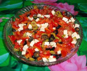 как сделать греческий салат
