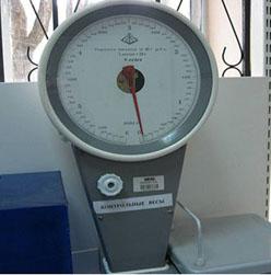 Обман в магазине Контрольные весы
