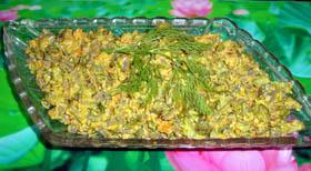 Салат из говяжьей печени рецепты