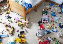 Ребенок не убирает игрушки