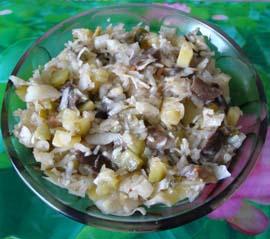 Салат из солений