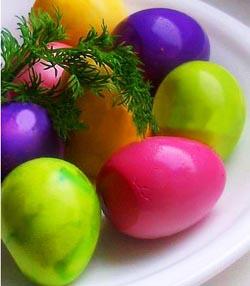 Натуральные красители для маринованных яиц