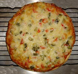 Готовить пиццу в духовке на решетке