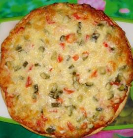 Вкусная начинка для пиццы