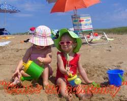 Защищайте детей от солнца