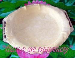 Тесто для грибного пирога