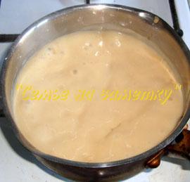Соус для жюльена из креветок и грибов