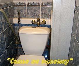 Гигиенический душ для унитаза вместо биде