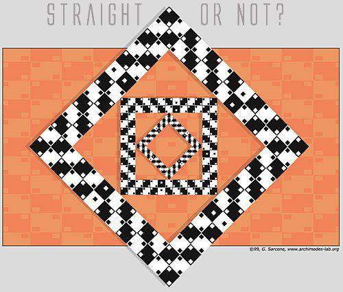 Квадраты прямые или кривые?