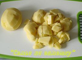 Картофель в щи со щавелем