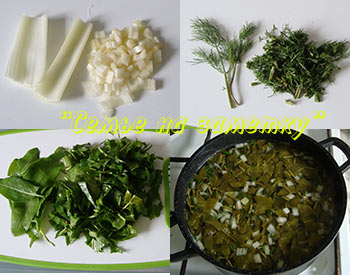 Готовим суп с щавелем
