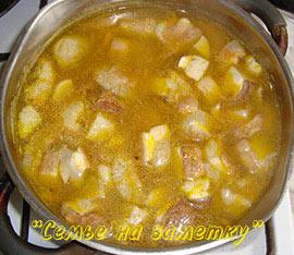 Готовим суп из свежих белых грибов
