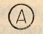 Знак А для химчистки
