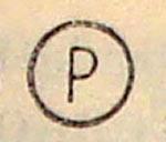 Знак Р для химчистки