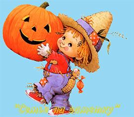 Музыкальная открытка с Хэллоуином