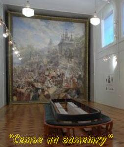 Картина Воззвание Минина в Нижегородском государственном художественном музее