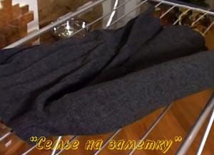 Сушка рукавов с помощью надувных шариков