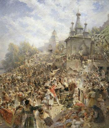 Картина Маковского Воззвание Минина