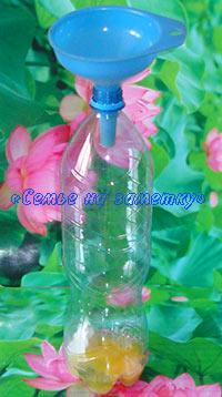Блины в пластиковой бутылке