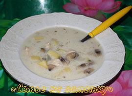 Рецепт в мультиварке сырный суп