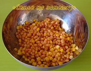 Фасоль и кукуруза