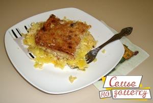 Картошка с фаршем в духовке рецепт с фото