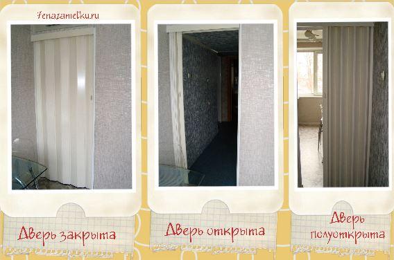 Дверь гармошка фото