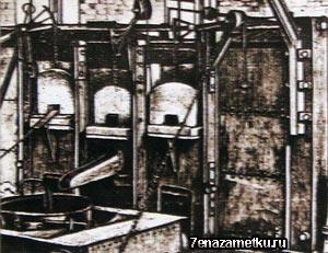 Первая в России мартеновская печь