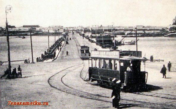Первый трамвай в Нижнем Новгороде