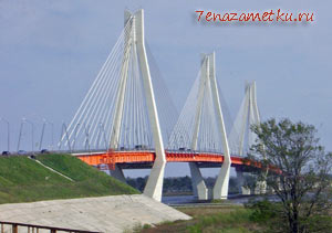 Новый мост в Муроме через Оку