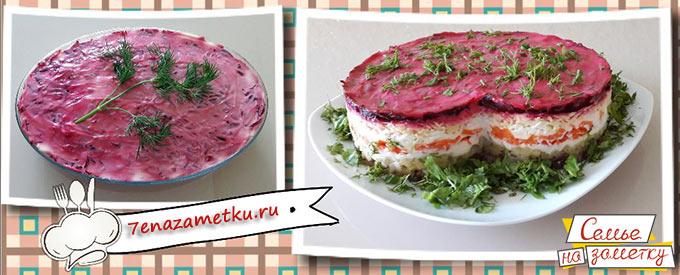 Салат со шпротами фото