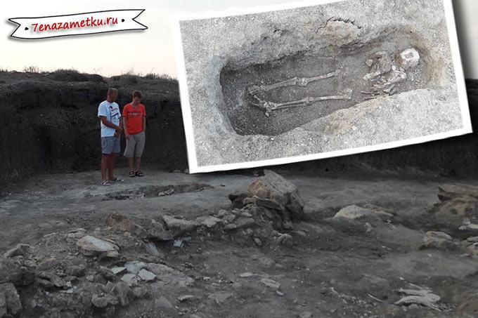 Раскопки некрополя Кыз-Аул
