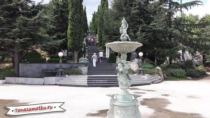 Лестница искусств (Раевского) в парке Айвазовское