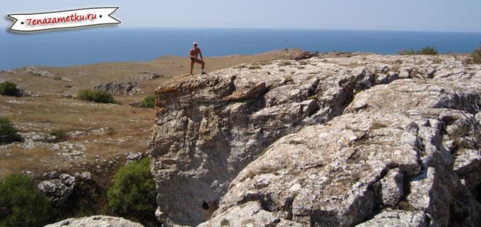 Гора Опук Восточное побережье Крыма