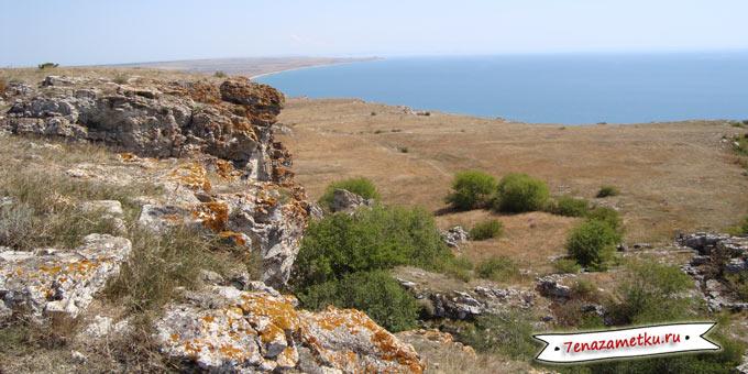 Вид с горы Опук