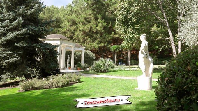 Оливковая роща в парке Парадиз
