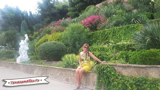 Террасный сад в Айвазовском