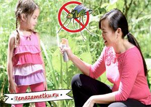 Средства от комаров: состав, эффективность и вред