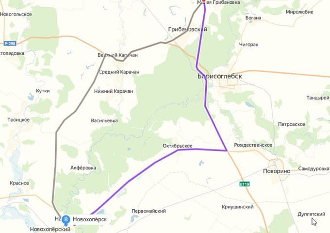 Отзыв о дороге из Нижнего Новгорода до Богучара