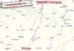 На машине на юг из Нижнего Новгорода через Арзамас