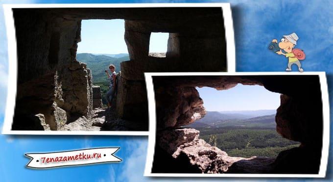 Пещеры-жилища в Мангуп-Кале